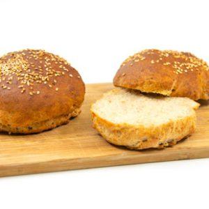 Burger Paddie glutenfrei Bugerbrötchen