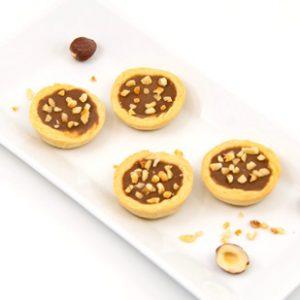 Cashew Schoko Nuss Tart glutenfrei Mini