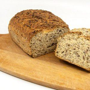 Chia Brot glutenfrei vegan