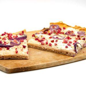 Flammkuchen Boden vegan glutenfrei