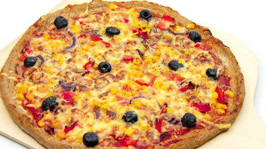 Pizza Pizzaboden glutenfrei