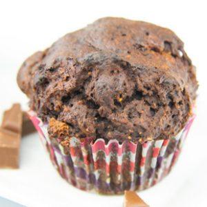 Verganer Schoko Muffin neu glutenfrei