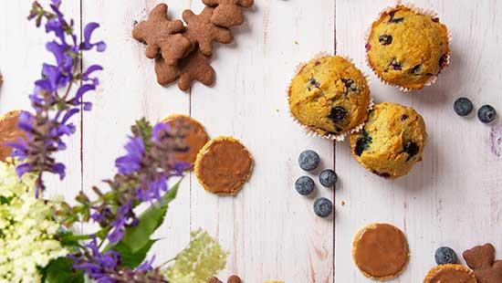 glutenfreie Kekse und Muffins