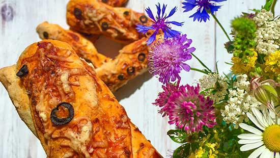 glutenfreie Pizzastange Herzhaftes
