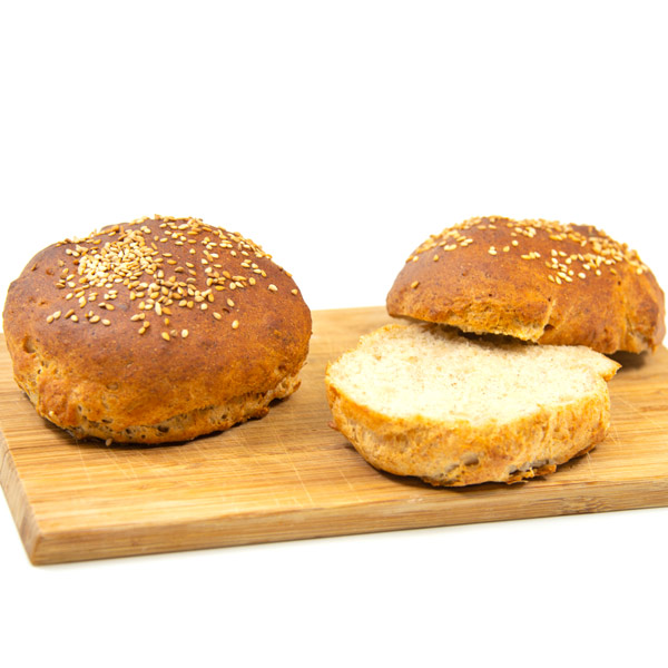glutenfreies Burger Brötchen