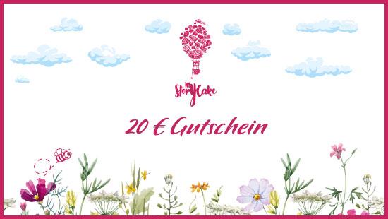 20-Euro-Gutschein für glutenfreie Backwaren, Kuchen und Torten