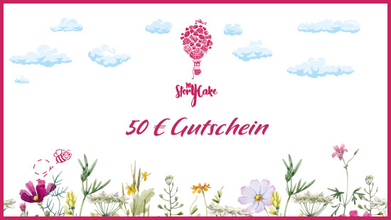 50-Euro-Gutschein für glutenfreie Backwaren, Kuchen und Torten