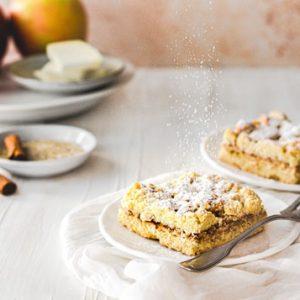 Glutenfreier Apfelstreusel
