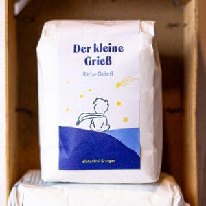 Glutenfreier Reisgrieß Der-kleine-Grieß
