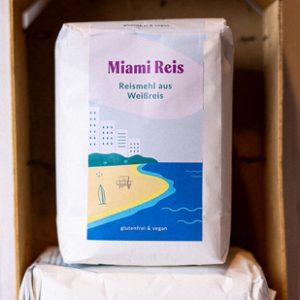 Glutenfreies weißes Reismehl